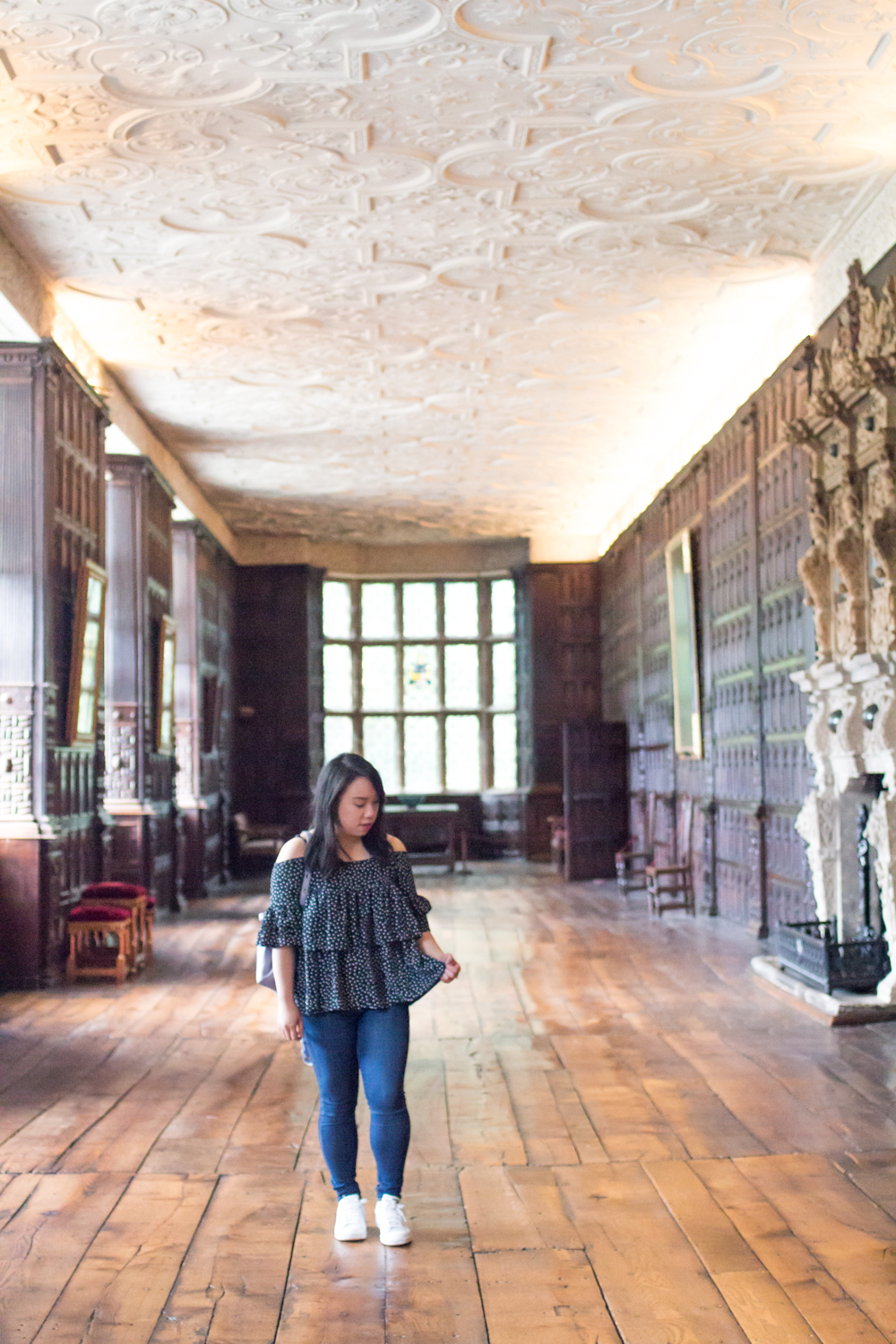 Aston Hall Birmingham Wood paneled room