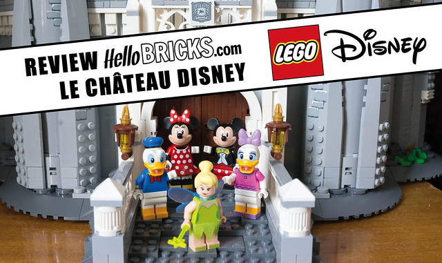 Review Hellobricks - Lego Disney's Castle