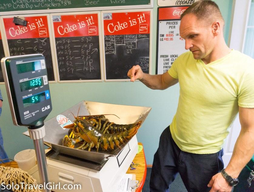 Trenton Bridge Lobster Pound Near Bar Harbor Maine, July 2016