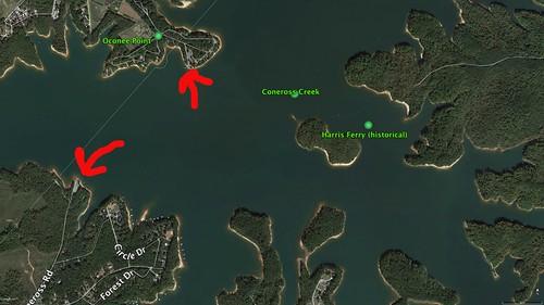 Harris Family Cemetery Google Earth 2