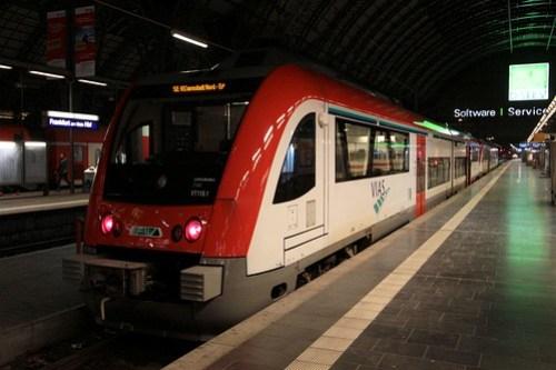 Bombardier Itino DMU at Frankfurt
