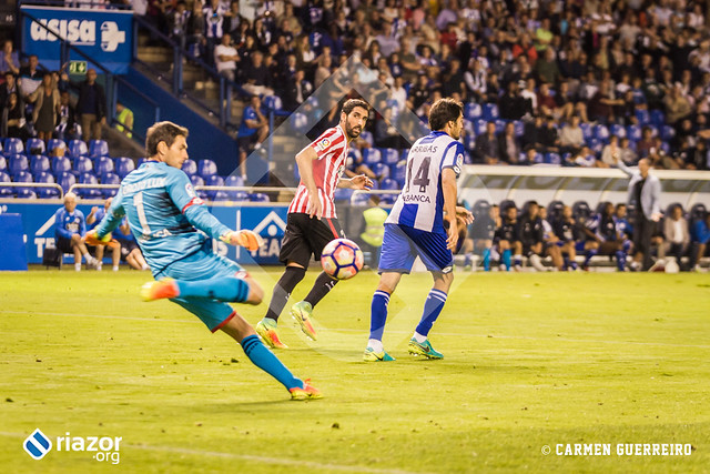 Temporada 16/17. RC Deportivo 0 - Athletic Club 1
