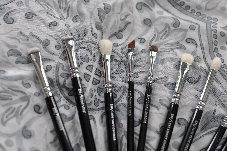 Zoeva complete eye brush set review