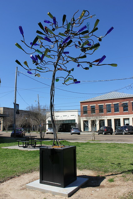 Bottle Tree by Stephanie Dwyer in Port Gibson, Mississippi
