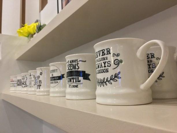 Mugs at Uni Lounge