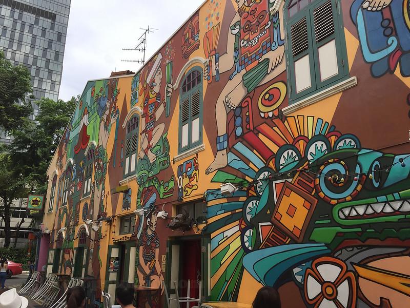 Mural at Haji Lane