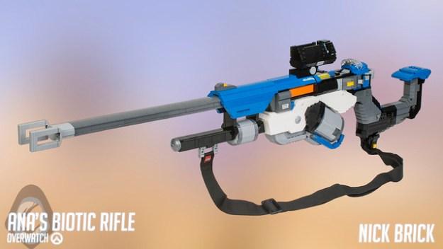 Nerf Gun Arsenal LEGO Overwatch Archive...