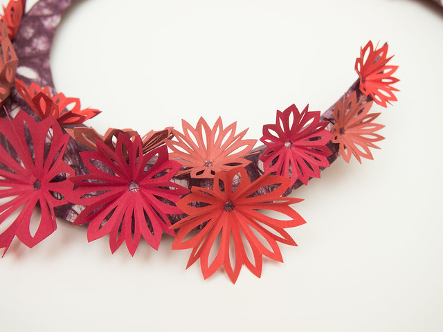 Wearable Art, Red Blooms