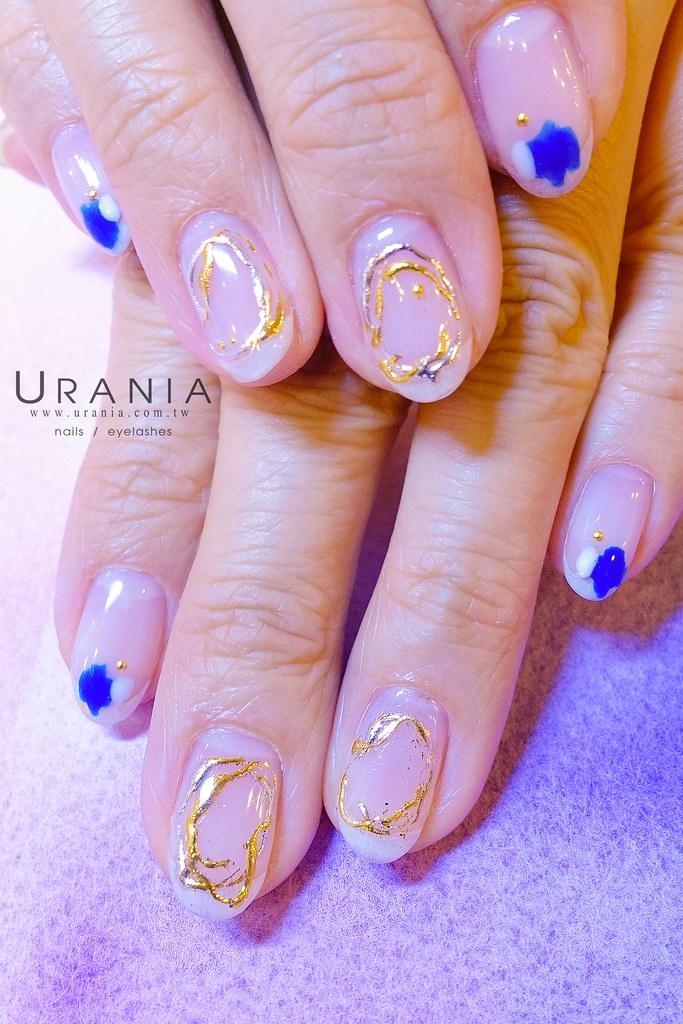 ♥ 金銀線的纏繞!鐵線凝膠指甲藝術 14