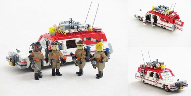 Ghostbusters reboot Ecto-1