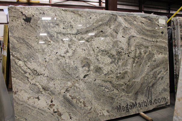 Bianco White Paradiso Granite Slab