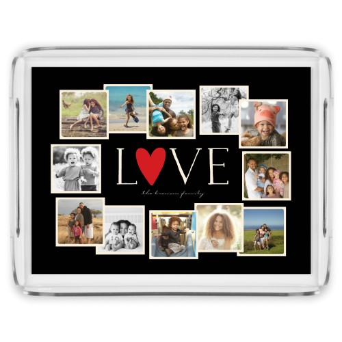 Love All Around Collage Serving Tray Serving Trays