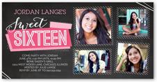 sweet 16 birthday invitations