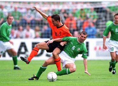 Image result for ireland v holland 2001
