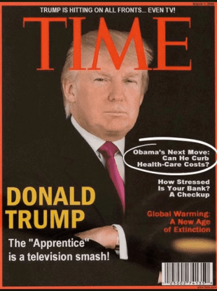 Time magazine asks Trump Organisation to remove fake ...