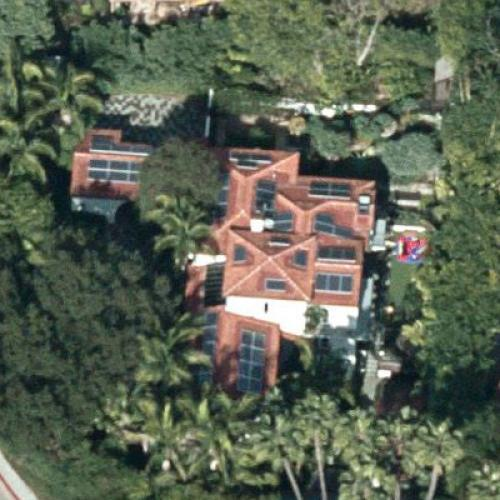 Charlize Therons House In Los Angeles CA Google Maps 3