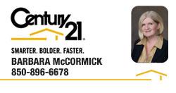 Barbara McCormick | REALTOR® | Panama City, Florida | Century 21 Commander Realty