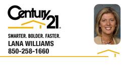 Lana Williams | REALTOR® | Panama City, Florida | Century 21 Commander Realty