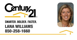 Lana Williams | REALTOR® | Panama City, Florida | Century 21 Commander Realty