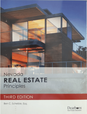 Nevada Real Estate Principles 3rd Edition Update
