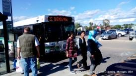 Bus adalah transportasi utama kami :D