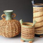 Stephen Kostyshyn's ceramic baskets