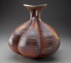 Anagama Bulb Vase-sm