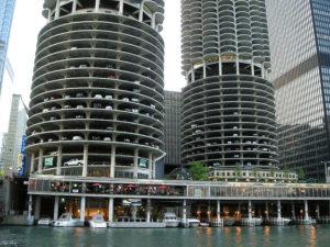 Parking garages in Chicago