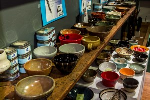 Bowls donated for event