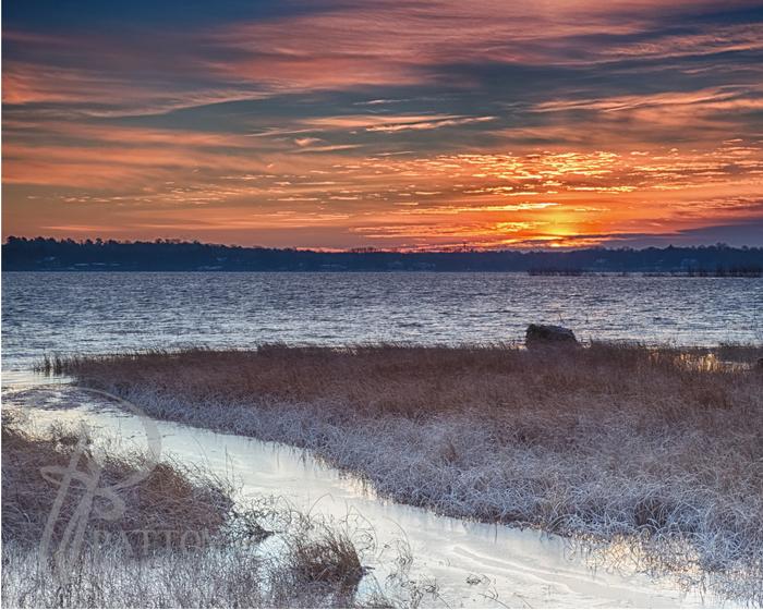 Image of Sunrise on White Bear Lake by TJ Patton