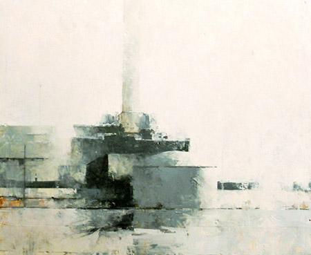 Sean Thomas Powerplant painting