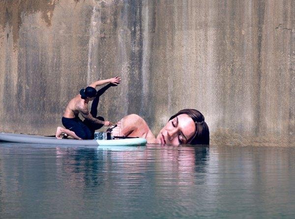Sean Yoro on surfboard painting
