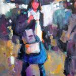 2017-Zagotta,-Girl-With-the-Blue-Umbrella,-Watercolor-&-Gouache,-13x9.5-inches-web