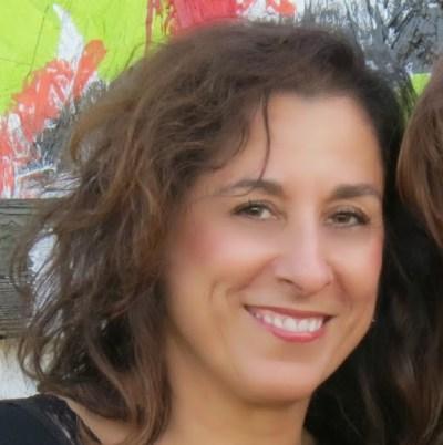 Photograph of artist Denise R LeClaire