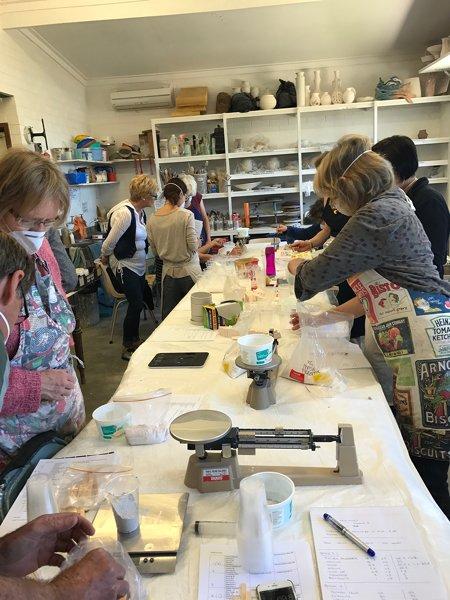 images at a workshop