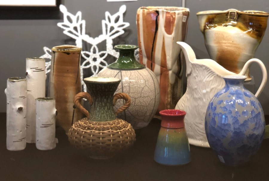 Handmade Ceramic Vases and pitchers