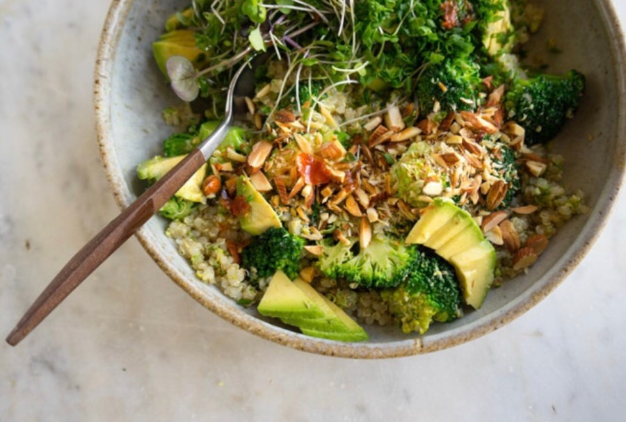 Buddha broccoli quinoa bowl recipe