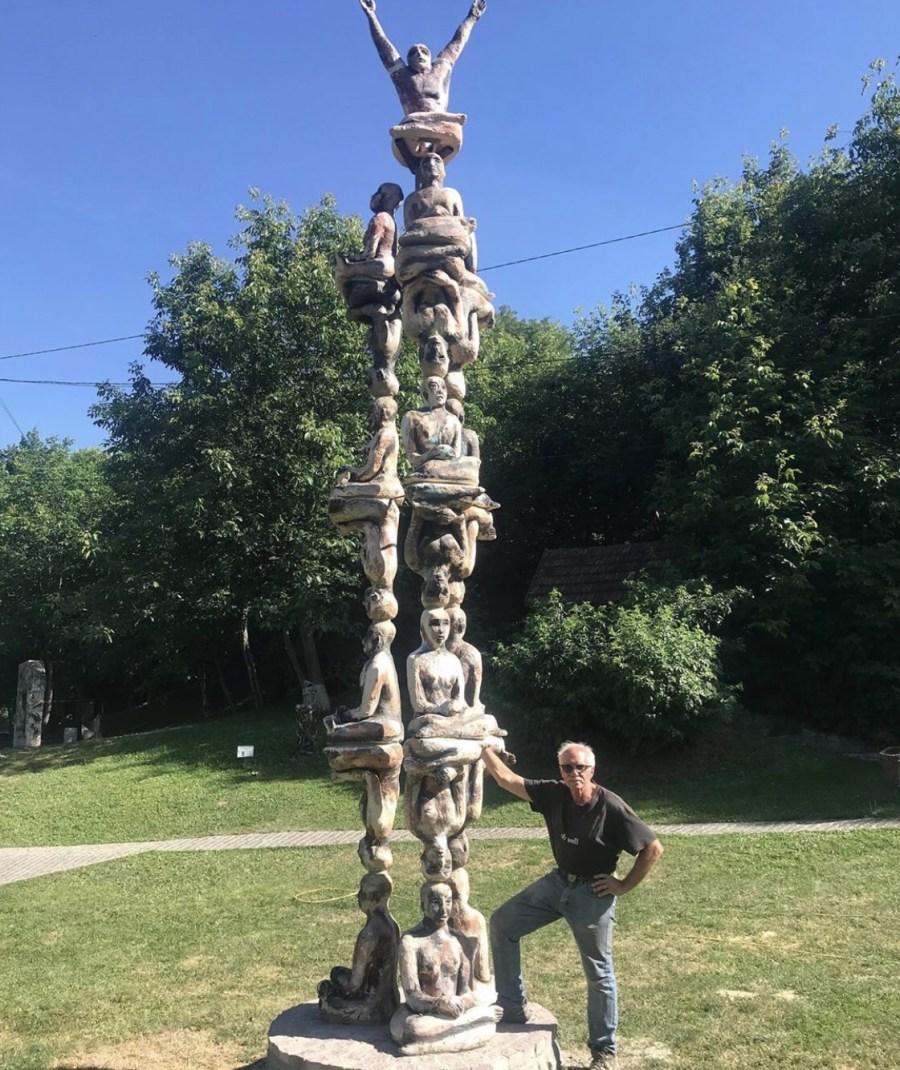 Mark Chatterley sculpture Ukraine