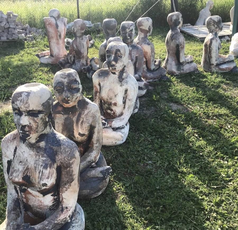 Mark Chatterley sculpture Ukraine project