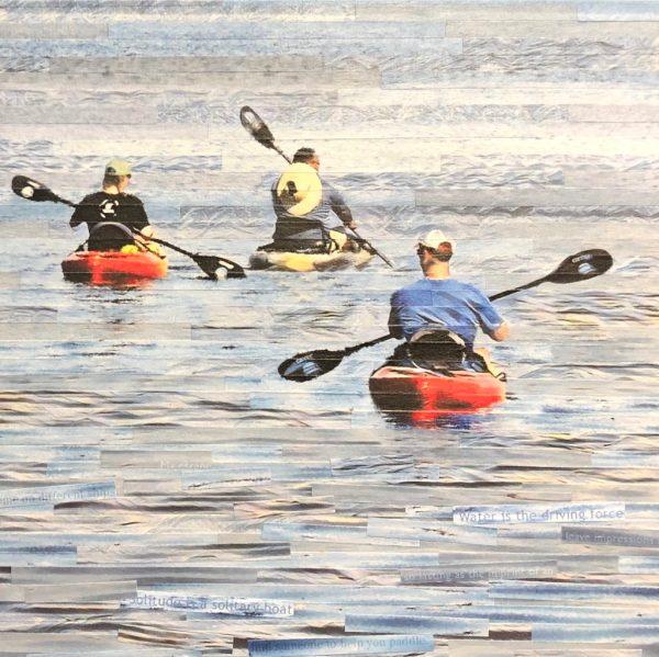 kayaking in lake michigan