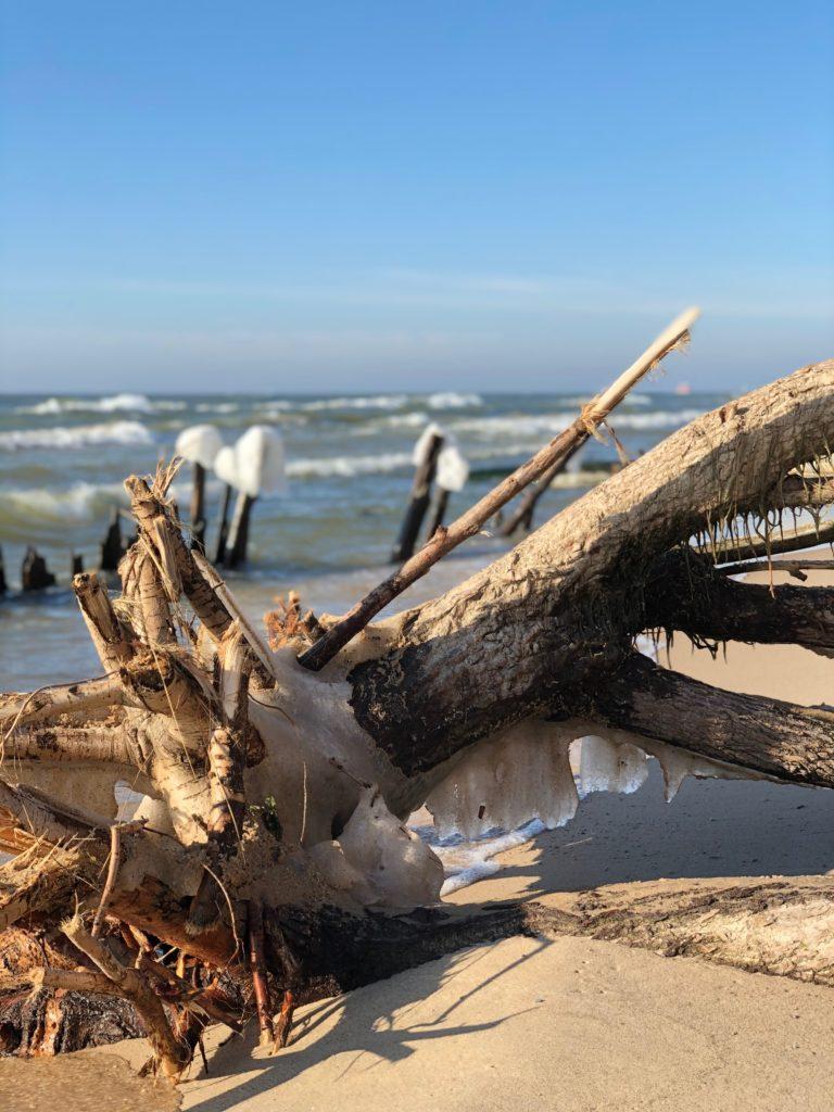 Grand Haven' south beach, Michigan
