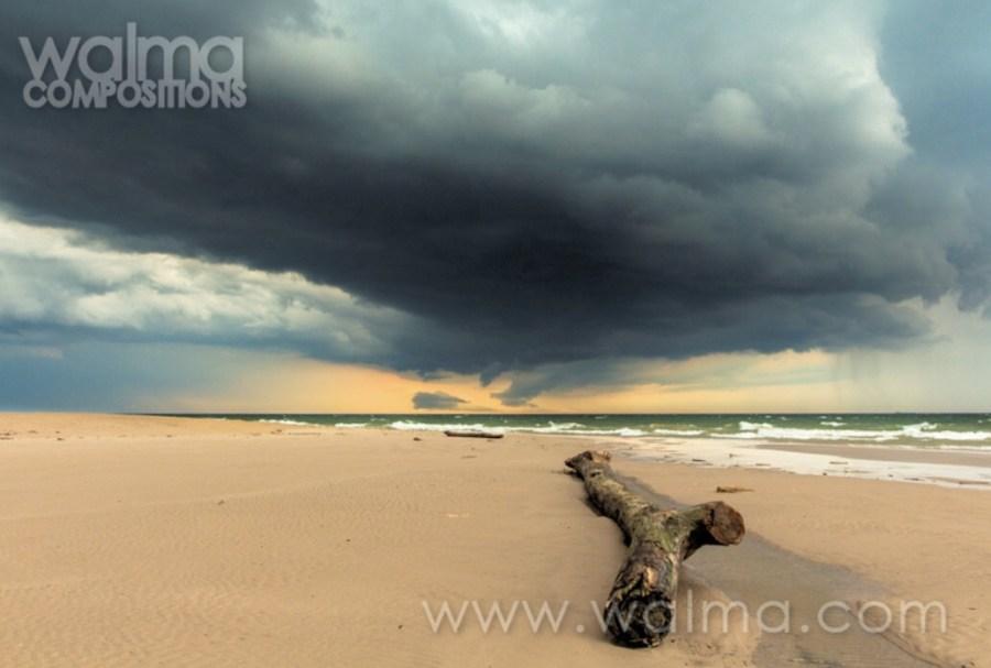 Lake Michigan sand photograph by bob walma