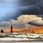 Grand Haven's lighthouse photograph by Bob Walma