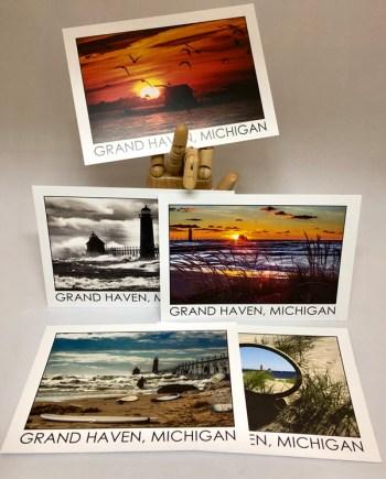 Grand Haven Postcards by Bob Walma