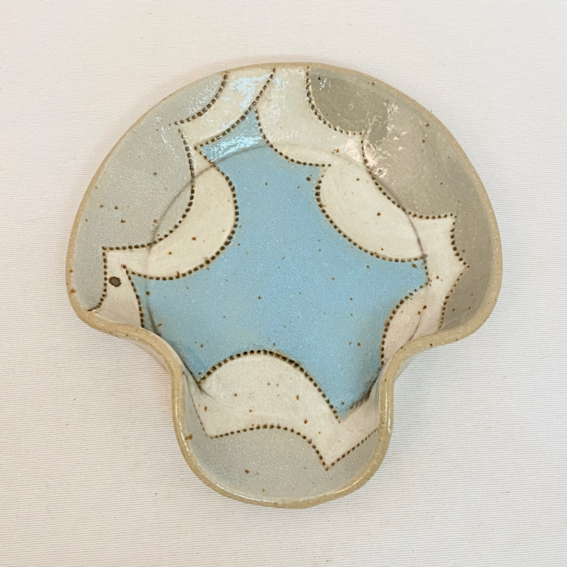 Abstract Clouds Spoon Rest by Cory McCrory