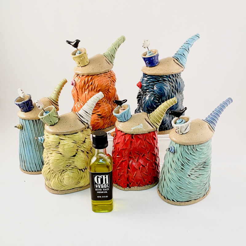 joy drop is a service offering handmade pottery and local West Michigan products