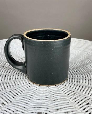 schyler binkley black handmade ceramic mug