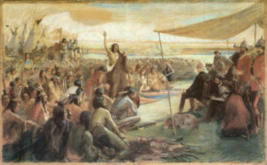 Treaties, Contracts, Crowfoot, Bruce Peninsula Lawsuit