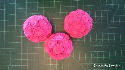 DIY Felt Rose Pompadours 5
