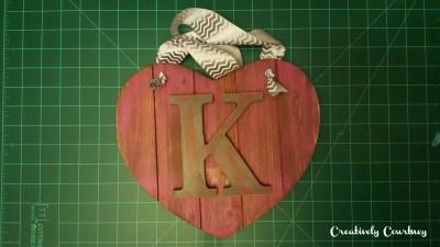 Heart Door Hanger -10